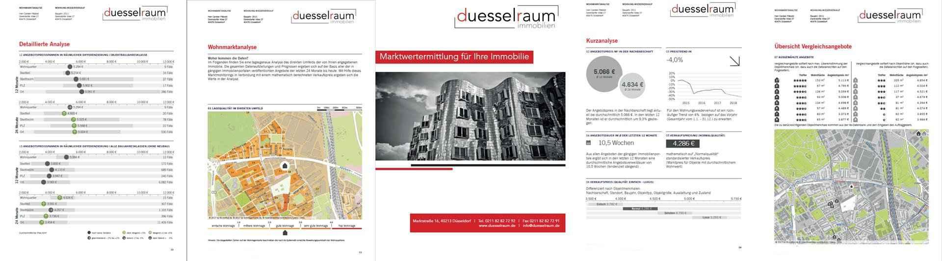 Marktwertanalyse duesselraum immobilien