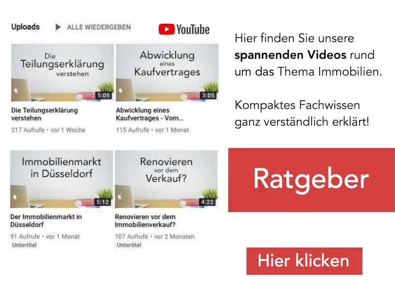 Spannende Videos zu interessanten Immobilienthemen