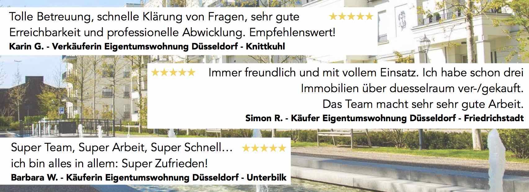 Immobilienmakler Düsseldorf: Bewertungen duesselraum immobilien OHG