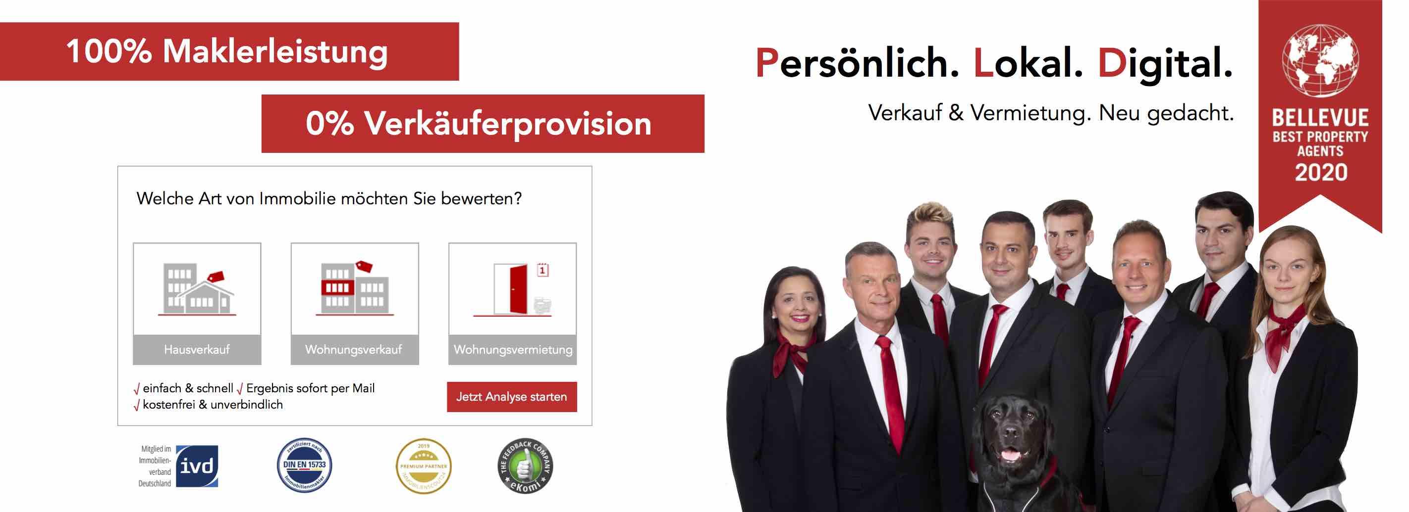 Immobilienmakler Düsseldorf: Team duesselraum immobilien OHG