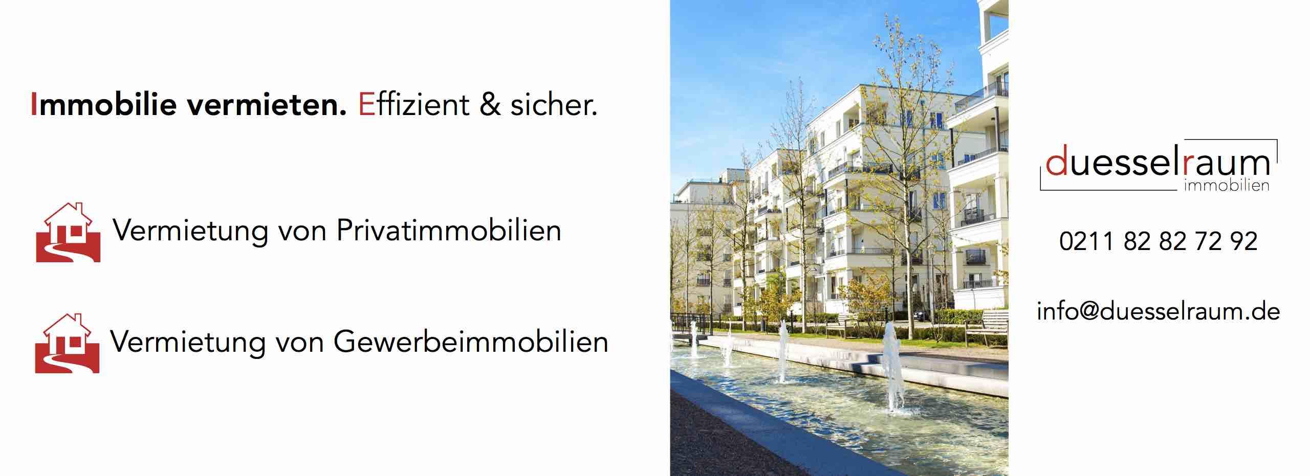 Immobilienmakler Düsseldorf: Vermieten