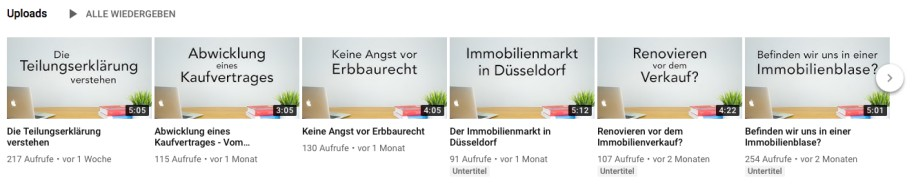 duesselraum Immobilien YouTube